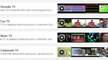 Telewizja online za darmo - Polishwords TV