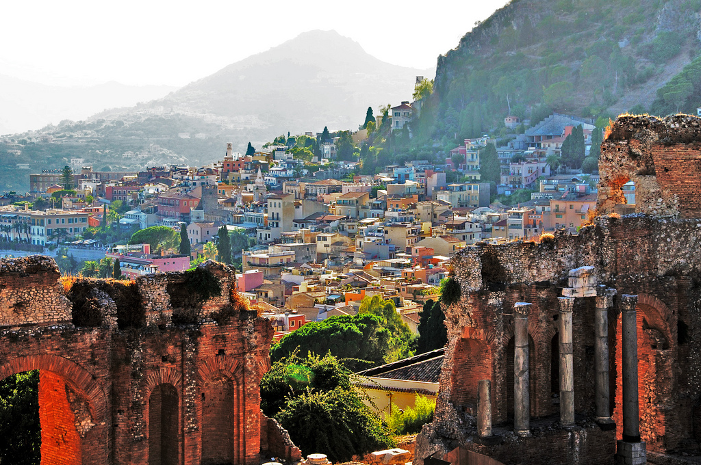 Taormina by Luca Volpi