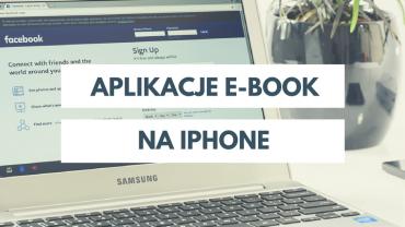 Aplikacje e-book na iPhone