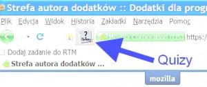 Quizy w Firefox