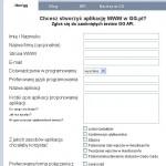 GG - beta testy formularz