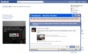 Aplikacje społecznościowe na Facebooka