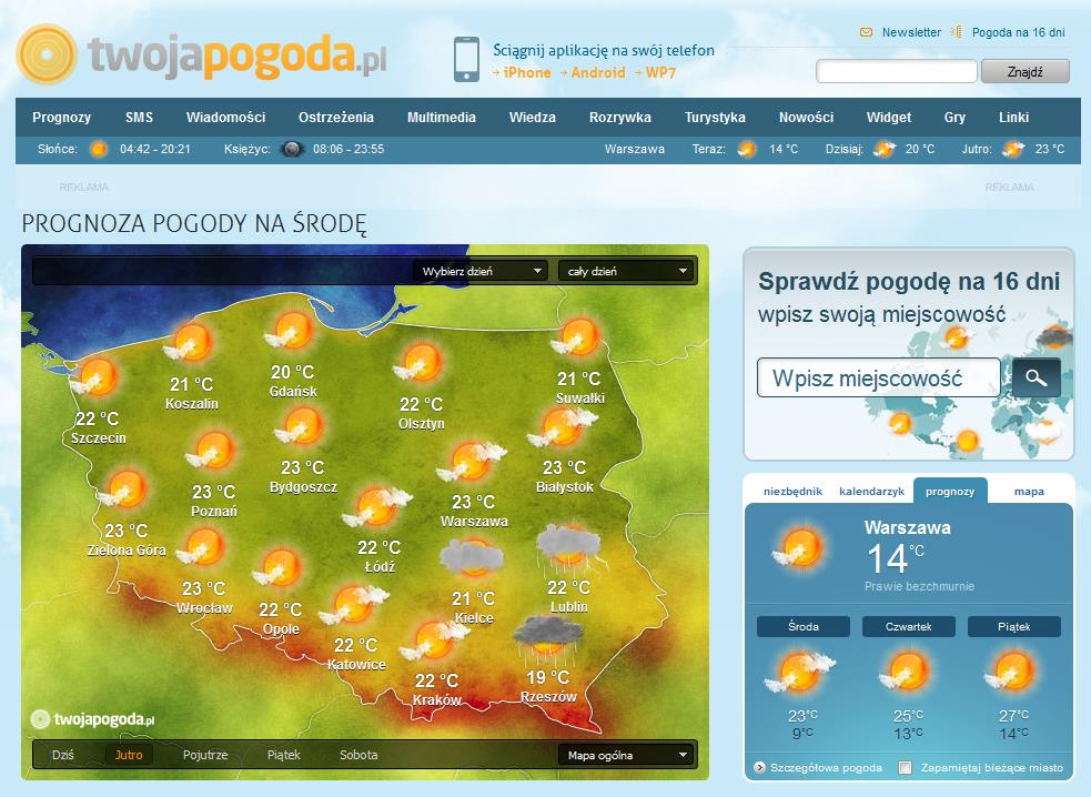 Ilustracja Gdzie jest burza? 5 przydatnych źródeł informacji. - Polishwords News