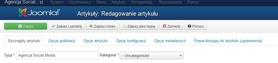 Ilustracja Agencja social media – czy Joomla 3 się nada? - Polishwords News