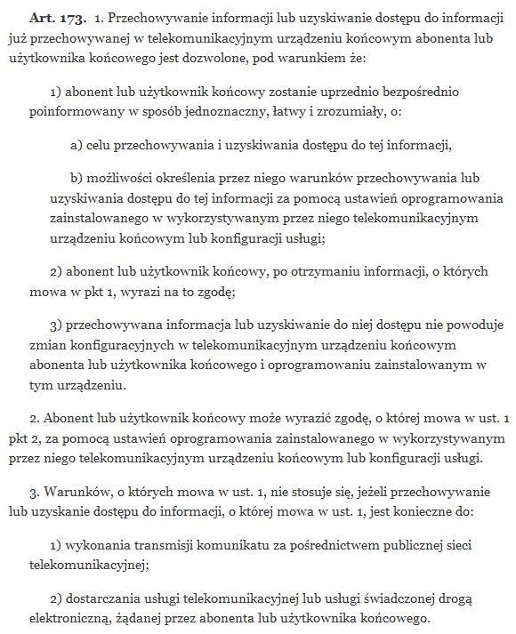 Ilustracja Uprzedzanie o ciasteczkach, a polskie realia - Polishwords News
