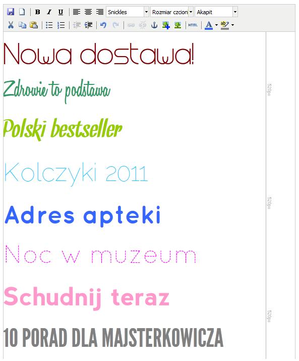Ilustracja ZP6 cz.1: Więcej zakładek, nowoczesna typografia, osadzanie filmów z YouTube - Polishwords News
